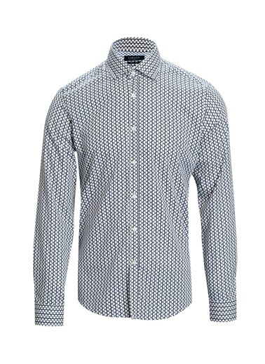 Lufian Grupa Smart Gömlek Slim Fit  Lacivert